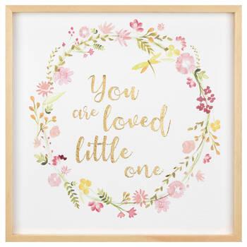 You Are Loved Framed Art