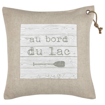 "Bord Du Lac Decorative Pillow 19"" X 19"""