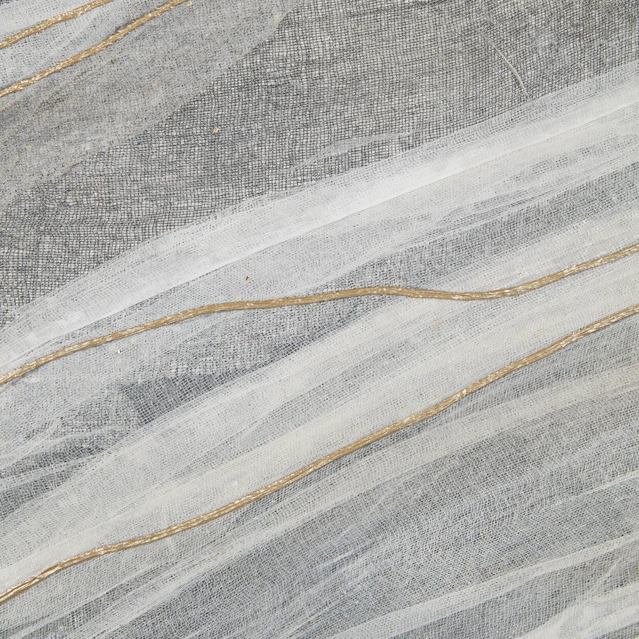 Tableau vagues abstraites peint à l'huile