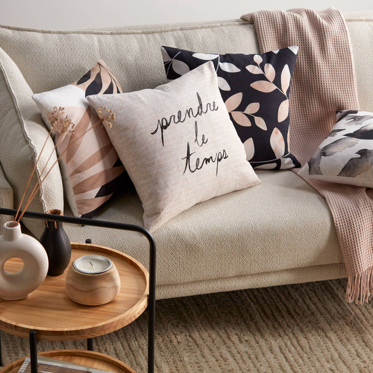 "Mary Decorative Pillow 18"" X 18"""