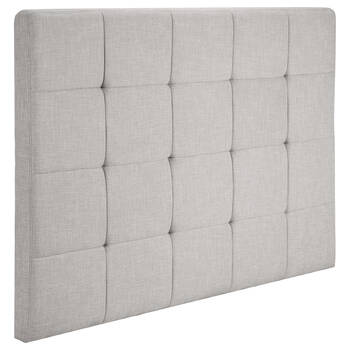 Biscuit Tufted Fabric Headboard