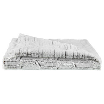 "Herbert Faux Fur Throw 50"" X 60"""