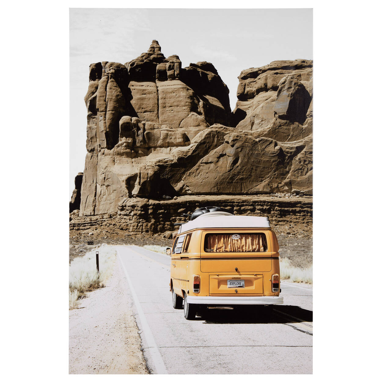 Tableau imprimé Voyage sur la route