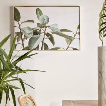 Leaves Printed Framed Art