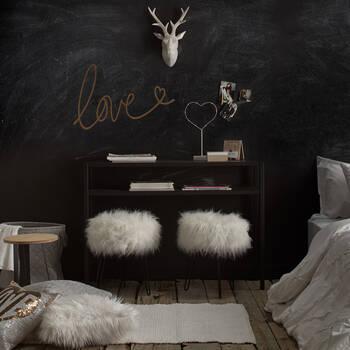 """Gobi Faux Fur Decorative Pillow 17"""" X 17"""""""