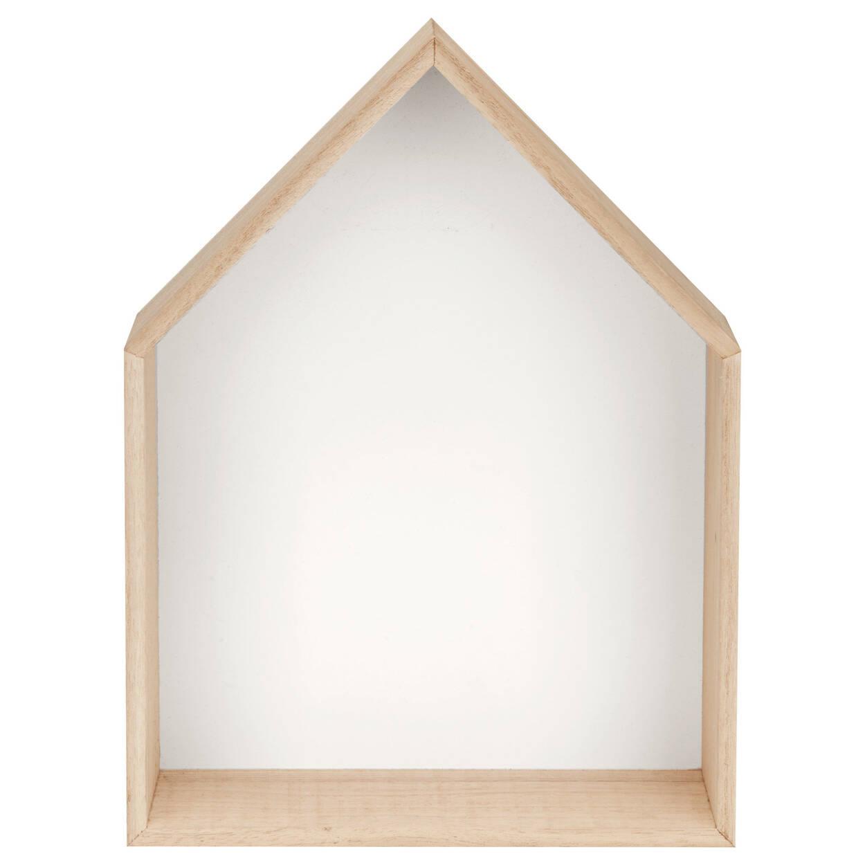 Set of 2 House Shelves