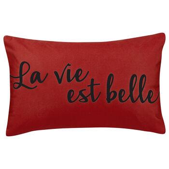 """Life Water-Repellent Decorative Lumbar Pillow 13"""" X 20"""""""