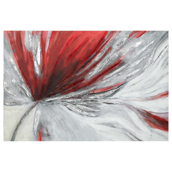Abstract Floral Canvas