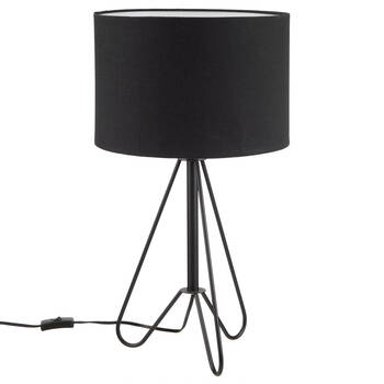 Table Lamp with Metal Base