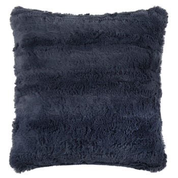 "Kilis Faux Fur Decorative Pillow 18"" X 18"""