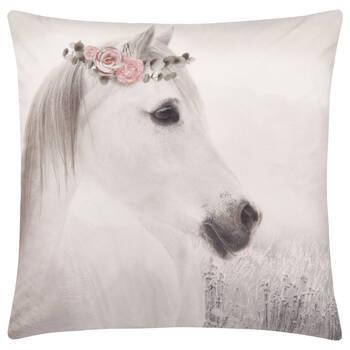 """Coussin décoratif cheval Tali 19"""" X 19"""""""