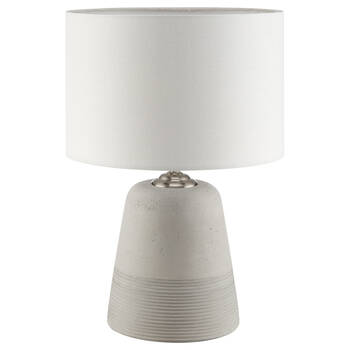 Two-Toned Cement Table Lamp