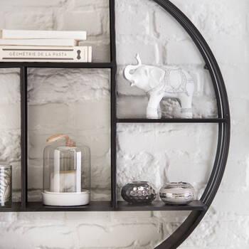 Embossed Ceramic Tea Light Holder