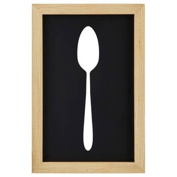 Spoon Cut-Out Wall Art