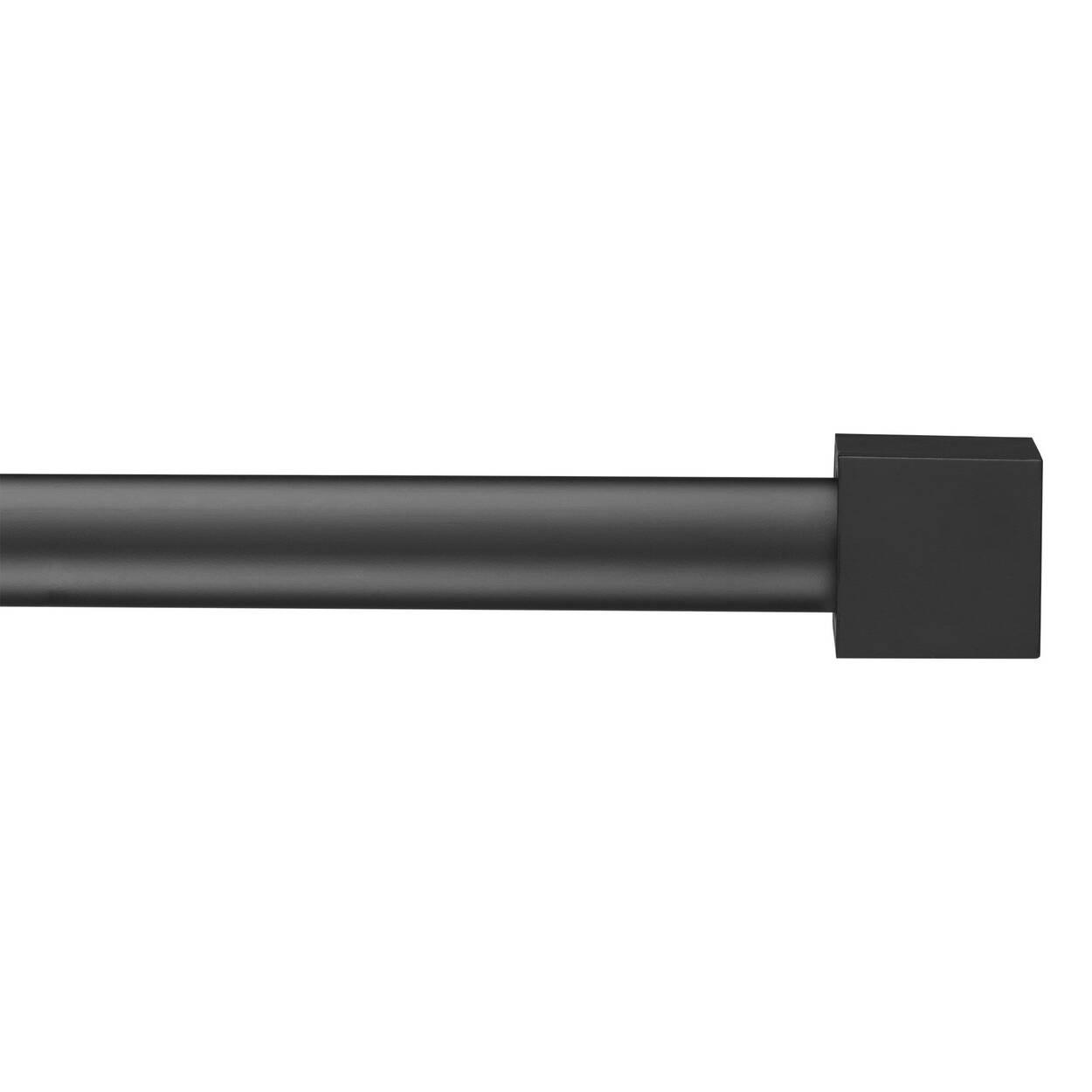 Ensemble de tringle à rideaux Cube - Diamètre 25 mm