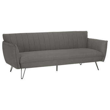 Sofa Bed with Black Metal Legs