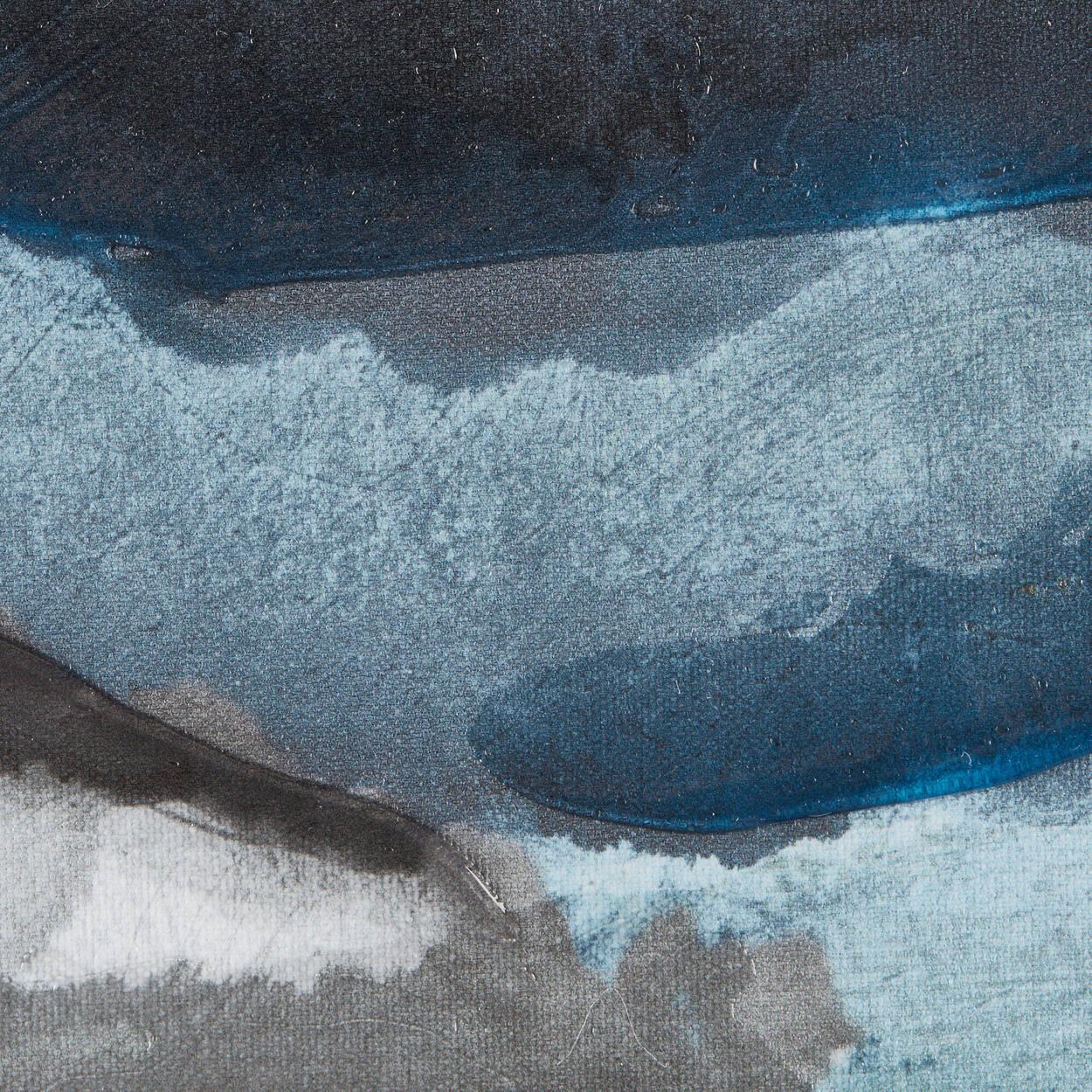 Cadre gouttes d'encre embelli au gel