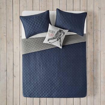 Collection Farris - Ensemble de couvre-lit réversible