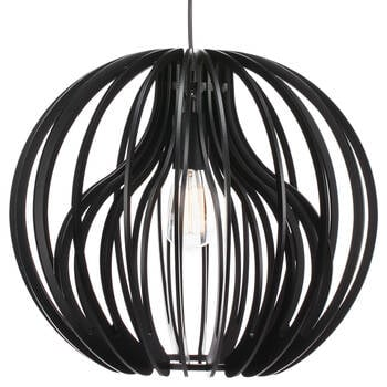 Double Layer Wooden Ceiling Lamp