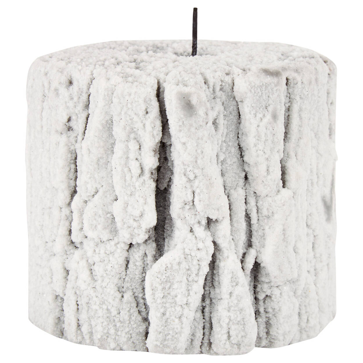 Snowy Bark Candle