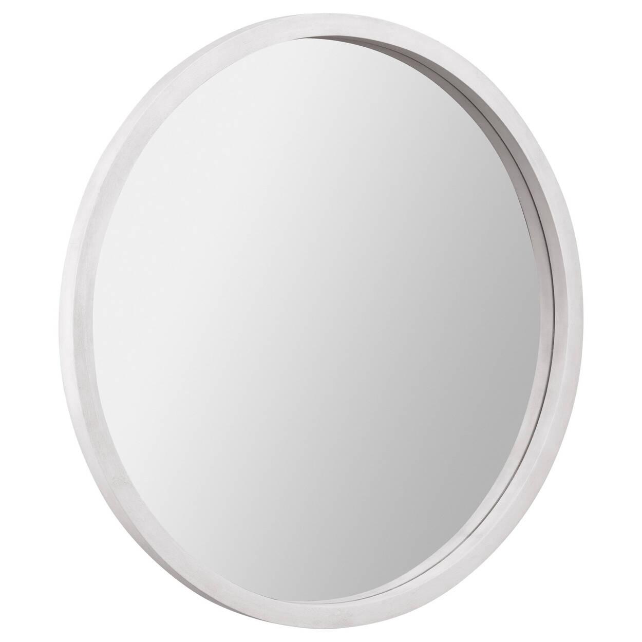 Miroir rond avec cadre