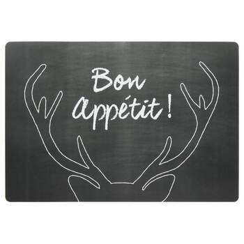 Bon Appétit Deer Placemat