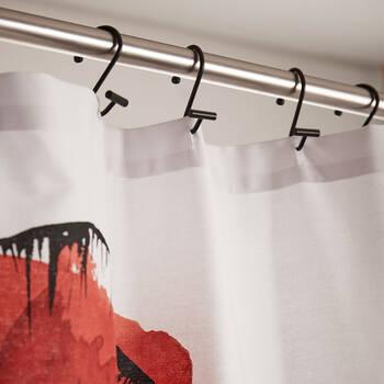 Set of 12 Shower Curtain Hooks