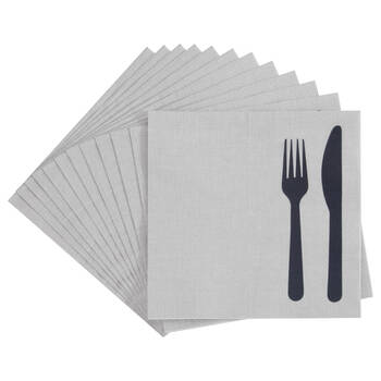 Pack of 20 Cutlery Paper Napkins