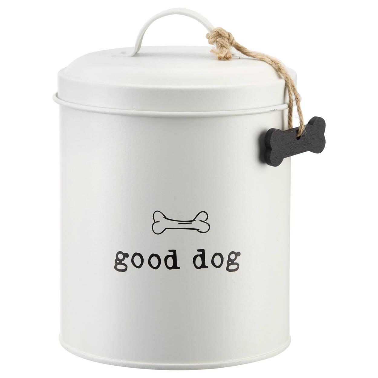 Dog Treats Metal Tin