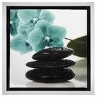 Flower & Stone Framed Art I