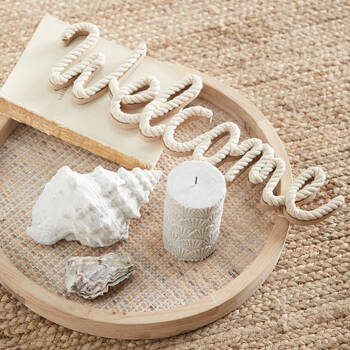 Decorative Word Welcome