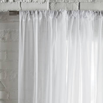 Rod Pocket Sheer Curtain