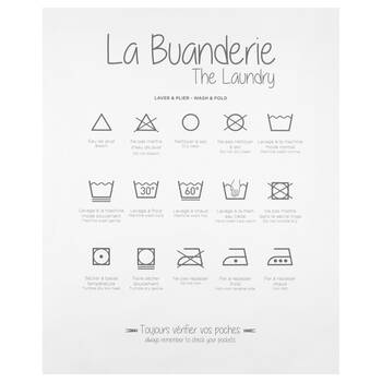 The Laundry Printed Canvas