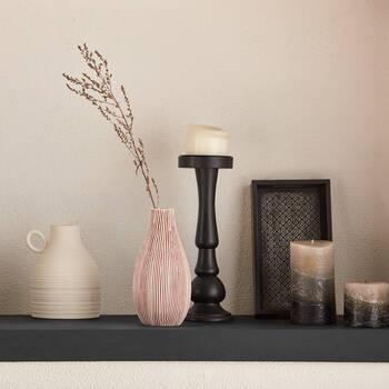 Striped Table Vase