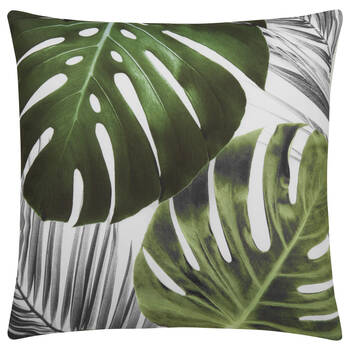 """Palm Leaves Water-Repellent Decorative Pillow 18"""" X 18"""""""