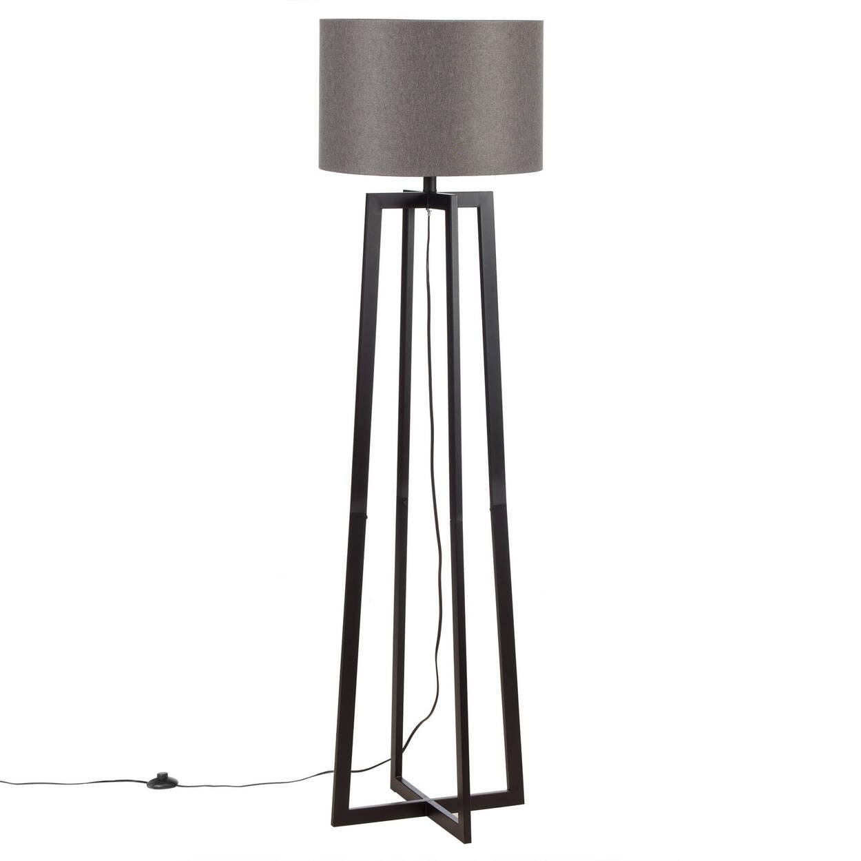 Geometric Metal Floor Lamp