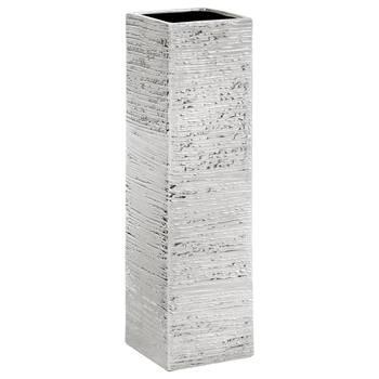 Textured Ceramic Floor Vase