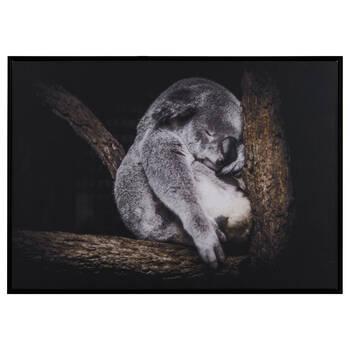 Sleeping Koala Printed Framed Art