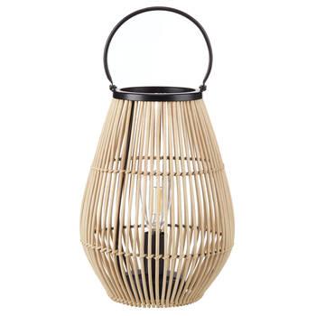 Natural Rattan Lantern Table Lamp