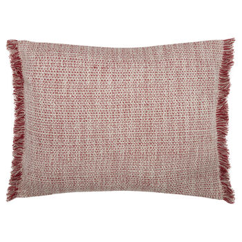 "Richford Fringed Decorative Pillow 16"" X 20"""