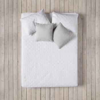 Collection Isle - Ensemble de couvre-lit matelassé 3 pièces