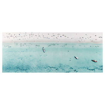 Day at the Beach Printed Canvas