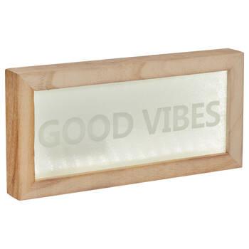LED Good Vibes Box