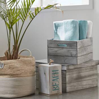 Ribbed Bath Towel