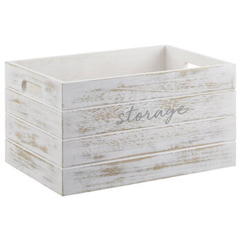 Wooden Storage Crate