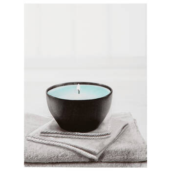 Spa Candle Printed Canvas