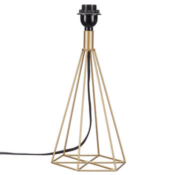 Metal Wire Prism Lamp Base