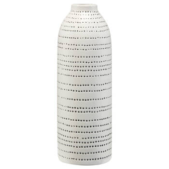 Textured Ceramic Table Vase