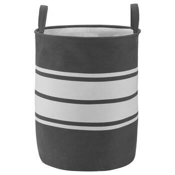 Striped Hamper