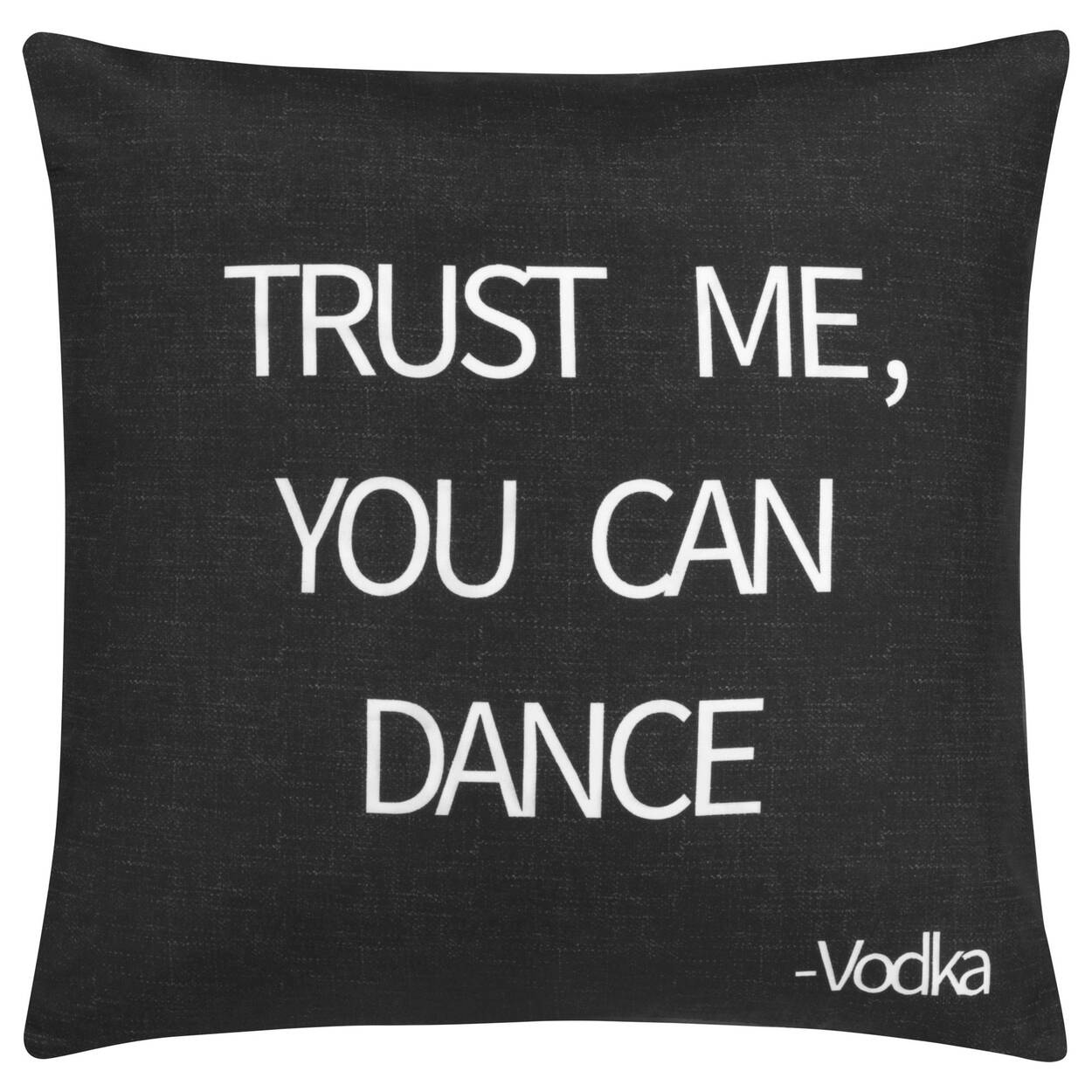 "Trust Me Decorative Pillow Cover 18"" X 18"""